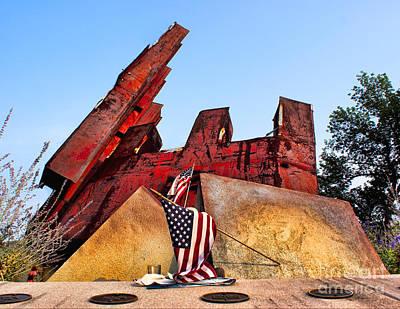 Photograph - Remember September 11th by Nick Zelinsky