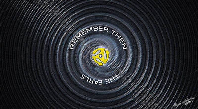Digital Art - Remember Then by Ericamaxine Price