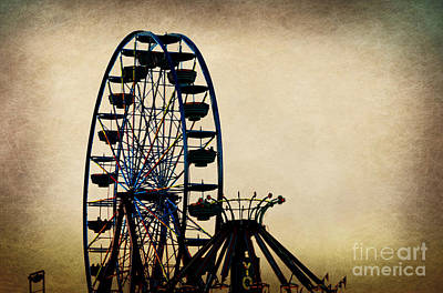 Photograph - Remember When Ferris Wheel by Peggy Franz