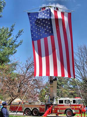 9 11 01 Photograph - Remembering 911 by Thomas  MacPherson Jr