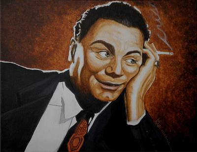Marty Painting - Remembering Ernest by Al  Molina
