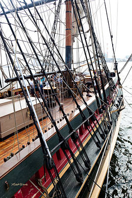 Photograph - Remembering The Hms Bounty by Michelle Constantine