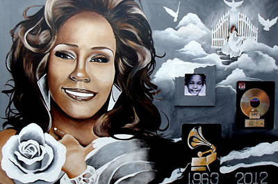 Remembering Whitney Art Print by Alonzo Butler