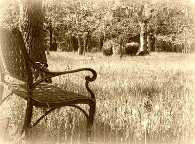 Photograph - Remembering You - Sepia  by Marilyn Wilson