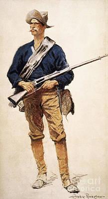 Photograph - Remington: Soldier, 1901 by Granger