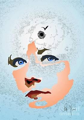 Art Print featuring the digital art Reminiscences by Leo Symon