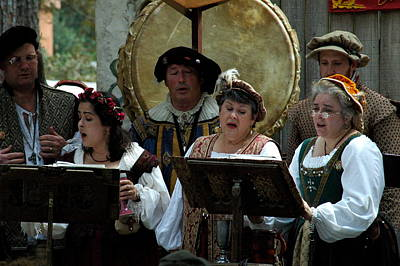Photograph - Renaissance Choir by Teresa Blanton