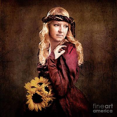 Daydreams Art Photograph - Renaissance Portrait by Cindy Singleton