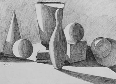 Drawing - Rendering 2 by Kume Bryant