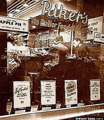 Painting - Rendez-vous At Riker's C.1950's by Dwight Goss