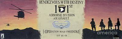 101st Airborne Division Photograph - Rendezvous With Destiny by Unknown