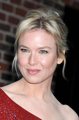 At Talk Show Appearance Photograph - Renee Zellweger At Talk Show Appearance by Everett