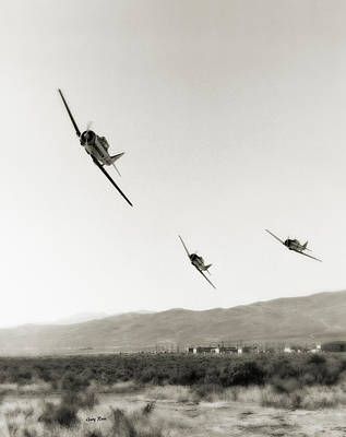 Photograph - Reno Air Races 1970s by Gary Rose