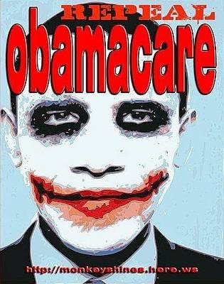 Socialism Mixed Media - Repeal Obamacare by Edward Przydzial
