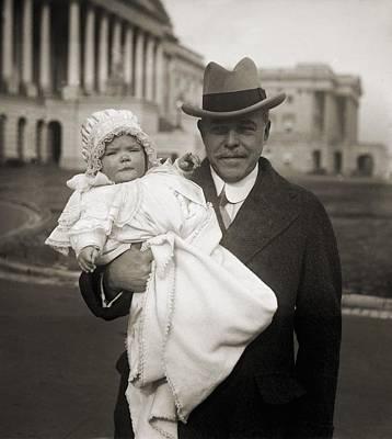 Infidelity Photograph - Representative Nicholas Longworth by Everett