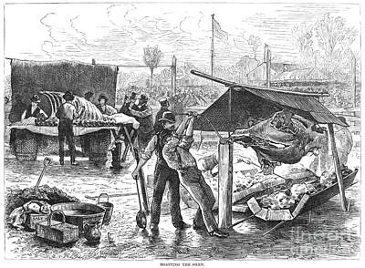 Republican Barbecue, 1876 Art Print by Granger