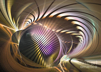 Digital Art - Requiem - Abstract Art by Sipo Liimatainen