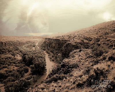 Verde Valley Photograph - Requiem by Arne Hansen
