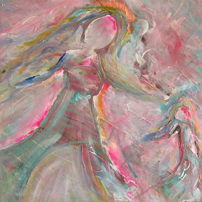 Inner Self Painting - Rescuing Me by Trenda Berryhill
