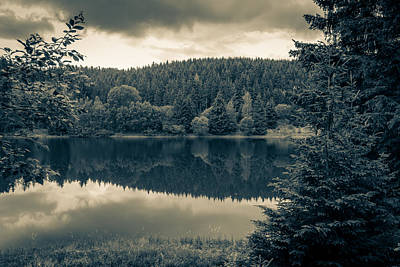 Photograph - reservoir Koenigshuette by Andreas Levi
