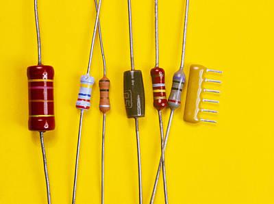 Resistors Art Print by Andrew Lambert Photography
