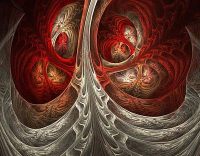 Abstract Digital Digital Art - Respiratory by Lourry Legarde
