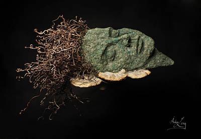 Portraits Sculpture - Rest by Adam Long