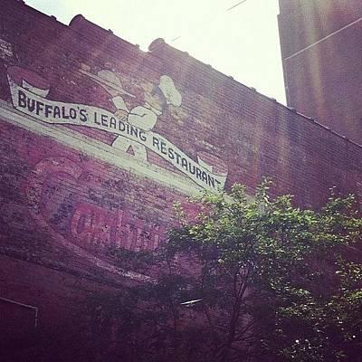 Restaurant Wall Art - Photograph - #restaurant #downtown #buffalo by Jenna Luehrsen