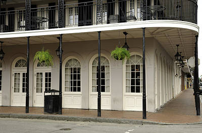 Photograph - Restaurant On Bourbon Street by Bradford Martin