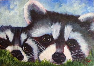 Resting And Watching Art Print by Ginger Jamerson