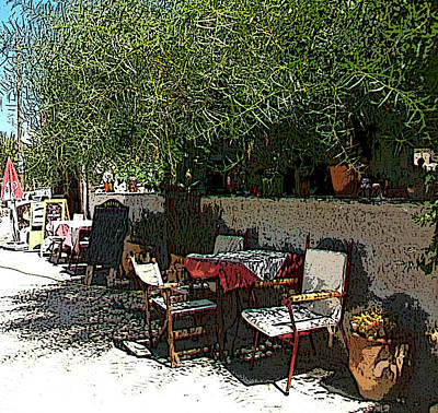 Photograph - Resting Corner - Rincon De Descanso by Rezzan Erguvan-Onal