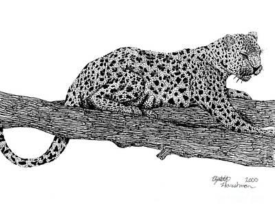 Resting Days Art Print by Elizabeth Harshman