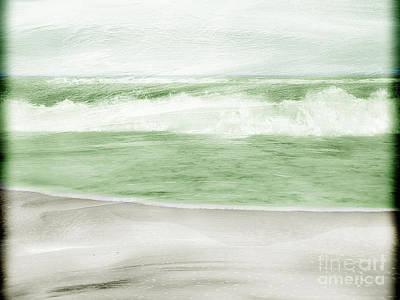 Undertow Photograph - Restless Sea by Linde Townsend
