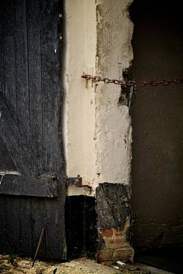 Old Door Photograph - Restricted by Odd Jeppesen