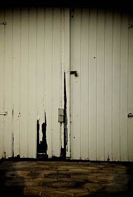 Old Door Photograph - Restricted Parking by Odd Jeppesen
