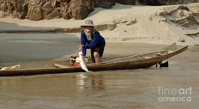 Photograph - Results On The Mekong by Bob Christopher