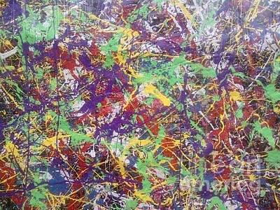 Painting - Resurrection 2010 by Meroe Rei