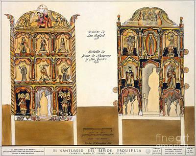 Retablo, 1816 Art Print