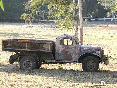 Photograph - Retired Power Wagon by Sue Halstenberg