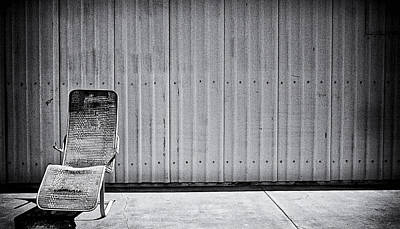 Cement Walkway Photograph - Retired by Ron Regalado