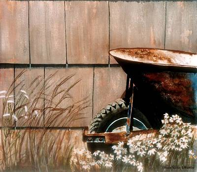 Painting - Retired by Susan Elise Shiebler