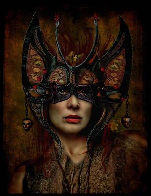 Villalba Photograph - Retrato De Una Mascara by Raul Villalba