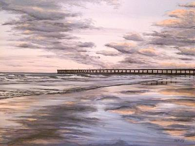 Retreating Tide Original by Scott Melby