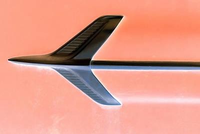 Chrome Jet Photograph - Retro Chrome On Peach by Tony Grider