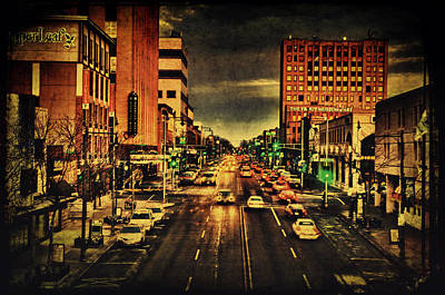 Photograph - Retro College Avenue by Joel Witmeyer