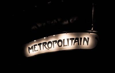 Photograph - Retro Metro by Anthony Doudt
