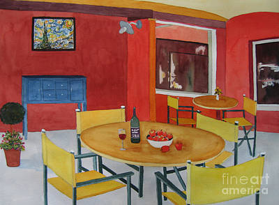 Painting - Retro Rouge by Vicki Brevell