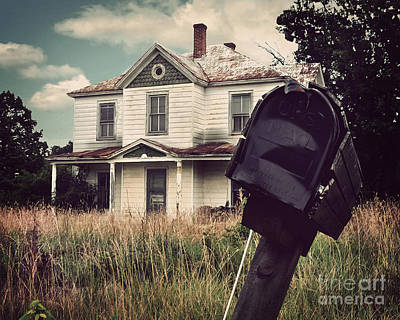 Haunted House Digital Art - Return To Sender by Jane Brack