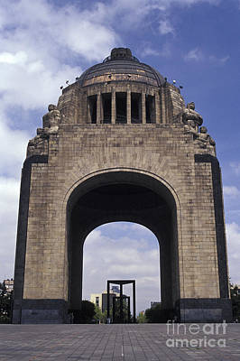 Photograph - Revolution Monument Mexcio City by John  Mitchell