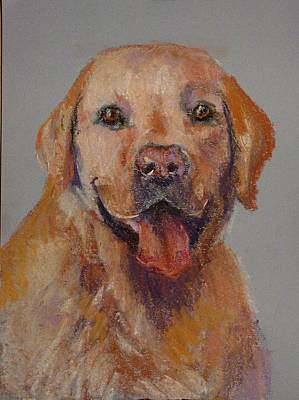 Art Print featuring the painting Rex  by Carol Berning